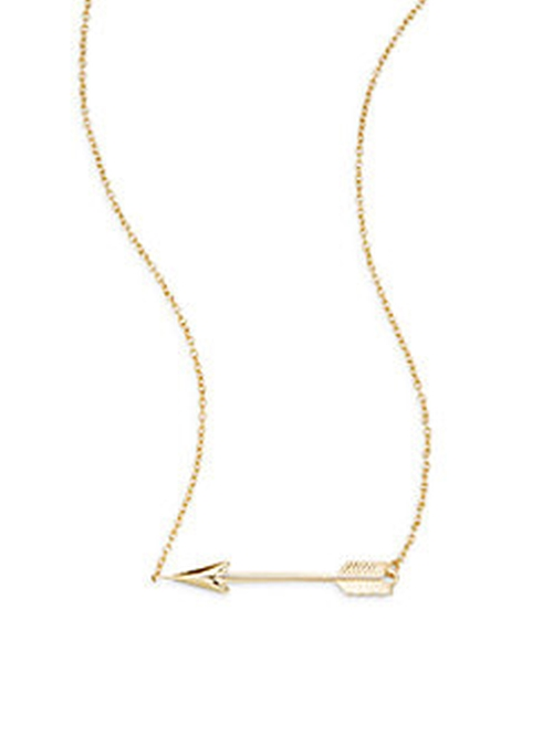 Arrow Pendant Necklace by Saks Fifth Avenue in Miss You Already