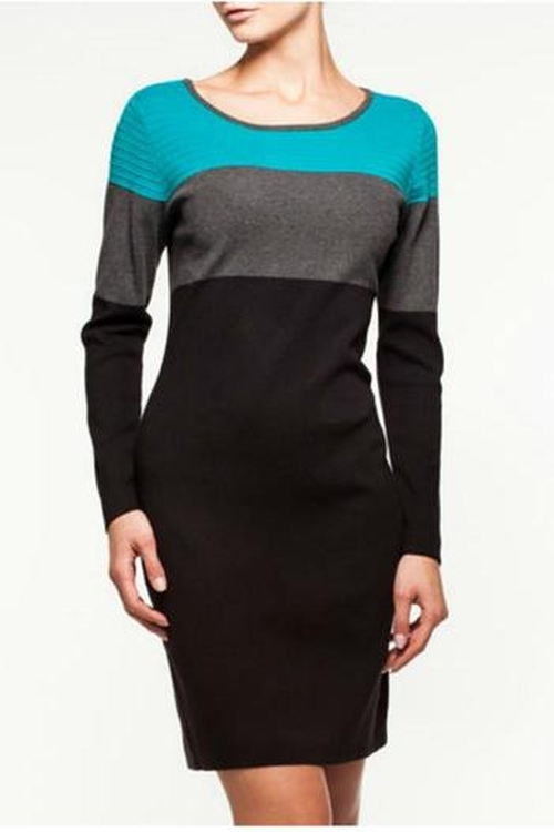 Longsleeve Sweater Dress by Alison Sheri in The Good Wife - Season 7 Episode 5