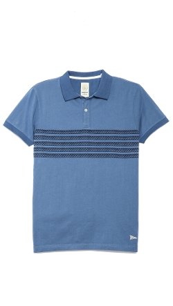 5 Rope Rugger Polo Shirt by Gant by Michael Bastian in Fast Five