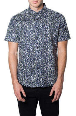 'Wilder Mind' Floral Print Woven Shirt by 7 Diamonds in The Flash
