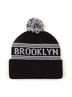 Pom Pom Brooklyn Beanie by American Apparel in Neighbors