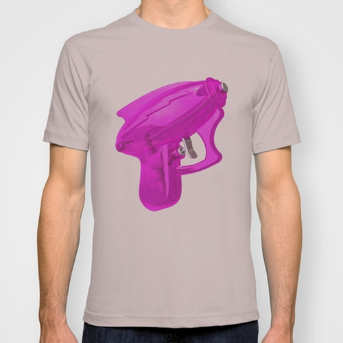 Squirt Gun Tee by McGrathDesigns in We Are Your Friends