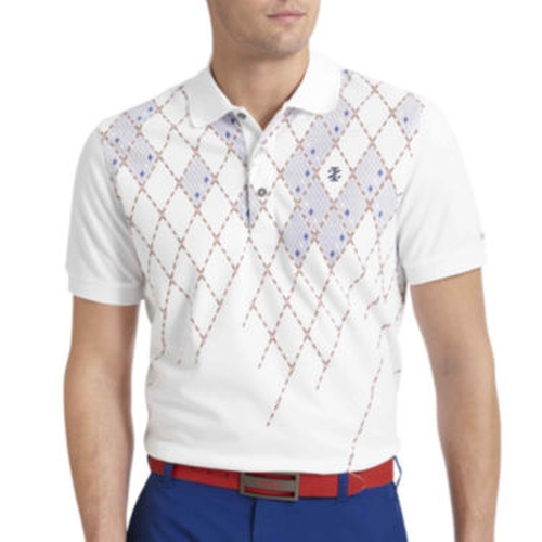 Golf Argyle-Print Polo Shirt by IZOD in Life