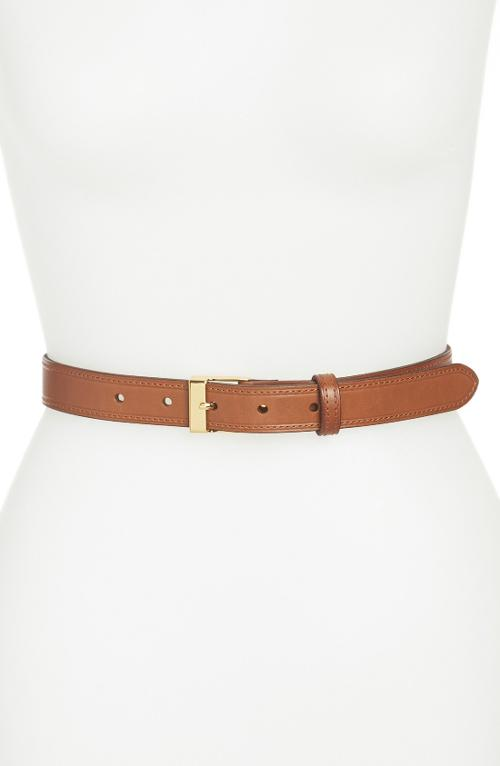 Vachetta Leather Belt by Lauren Ralph Lauren in The Other Woman