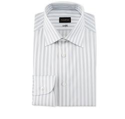 Bold Stripe Dress Shirt by Ermenegildo Zegna in Designated Survivor