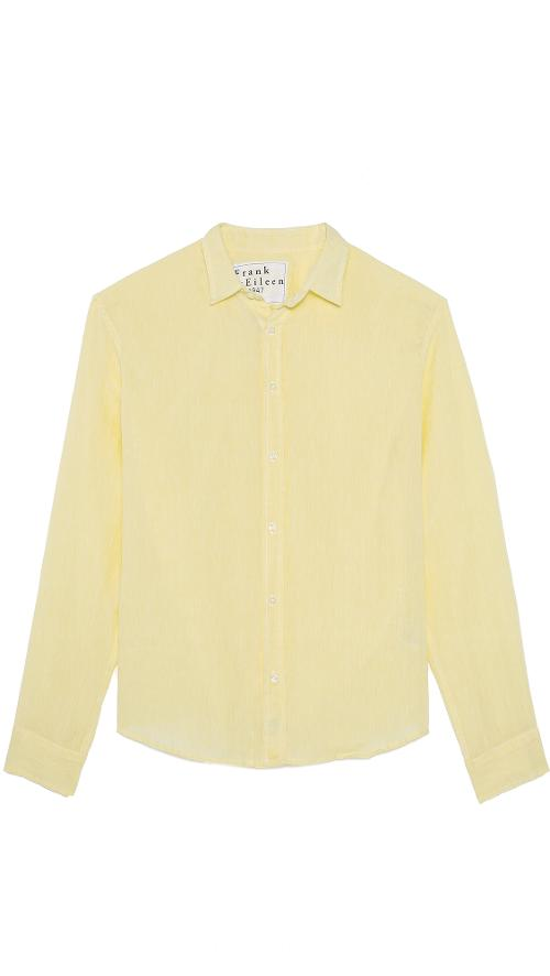 Paul Linen Shirt by Frank & Eileen in Get On Up