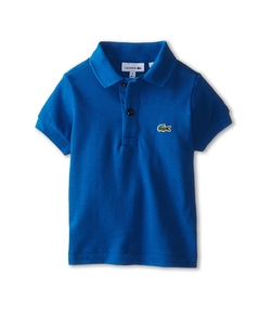 Short Sleeve Classic Pique Polo Shirt by Lacoste Kids in Vacation