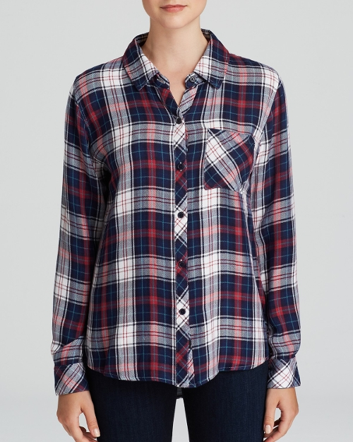 Hunter Plaid Shirt by Rails in Fantastic Four