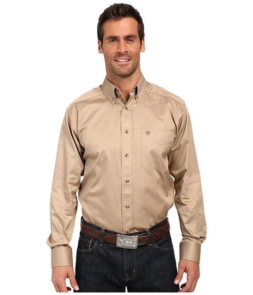Solid Twill Shirt by Ariat in The Girl on the Train