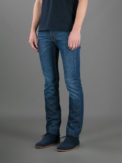 Slim Stonewash Jeans by Lanvin in That Awkward Moment