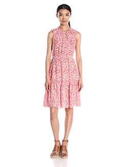 Women's Sleeveless Provence Dress by Rebecca Taylor in New Girl