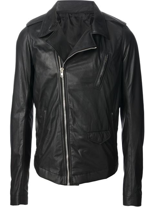 Classic Biker Jacket by Rick Owens in Empire - Season 2 Episode 1
