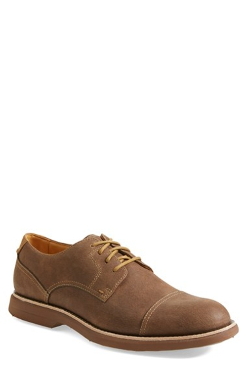 'Gold Cup - Bellingham' Cap Toe Derby Shoes by Sperry in Poltergeist