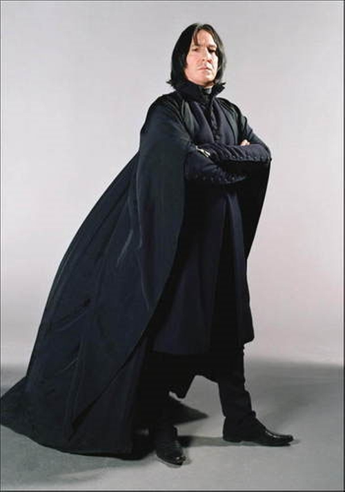 Custom Made Snape Costume by Jany Temime (Costume Designer) in Harry Potter and the Deathly Hallows: Part 2