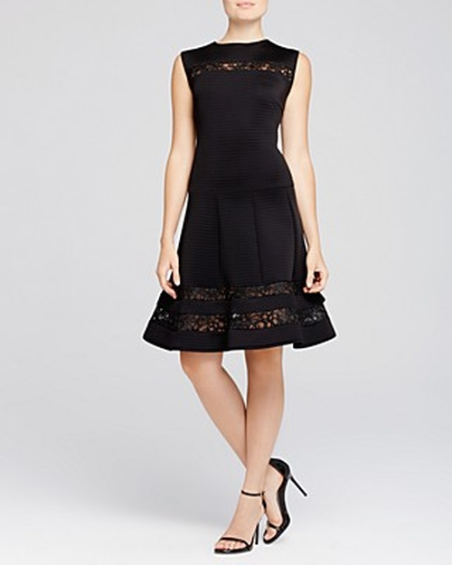 Sleeveless Fit & Flare Dress by Tadashi Shoji in Scream Queens