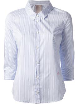 Pin Striped Shirt by +People in And So It Goes