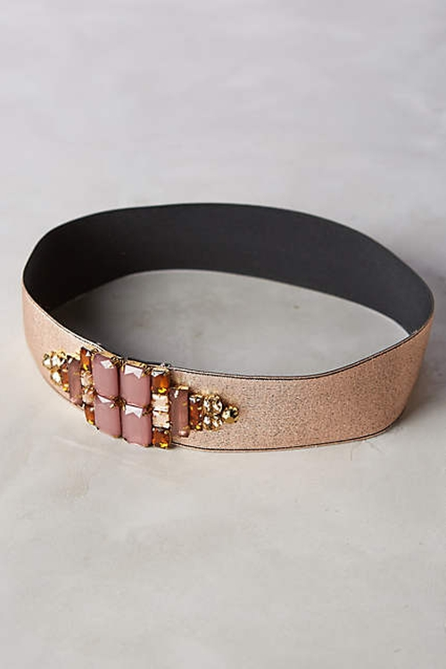 Centered Shine Belt by Anthropologie in Scream Queens - Season 1 Episode 9