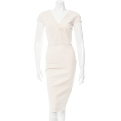 Sheath Dress With Cap Sleeves by Victoria Beckham in House of Cards