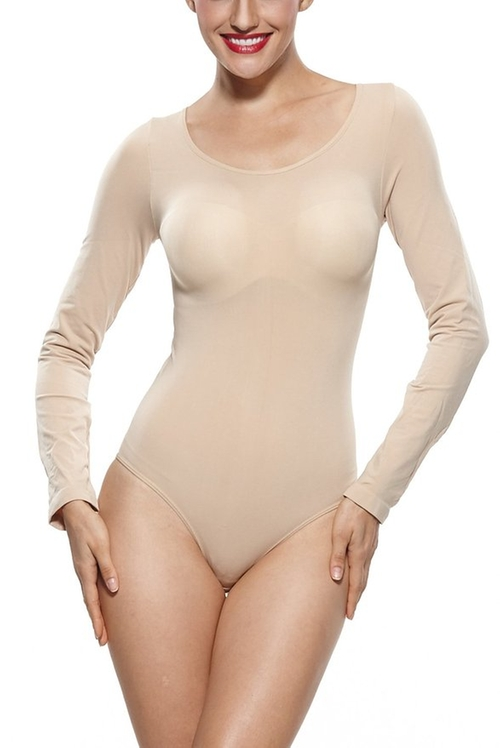 Long Sleeve Bodysuit by Khaya in Keeping Up With The Kardashians - Season 11 Episode 12