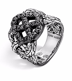 Lava Band Woven Braided Ring by John Hardy in The Good Wife