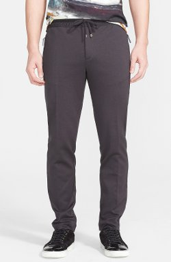 Jersey Pants with Satin Taping by Dolce & Gabbana in Fifty Shades of Grey