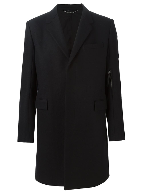 Single Breasted Coat by Helmut Lang in The Accountant