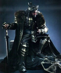 Custom Made Thorin Oakenshield Costume by Ann Maskrey & Bob Buck (Costume Designer) in The Hobbit: The Battle of The Five Armies