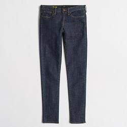 Factory Skinny Ankle Jean by J. Crew Factory in Fifty Shades of Grey