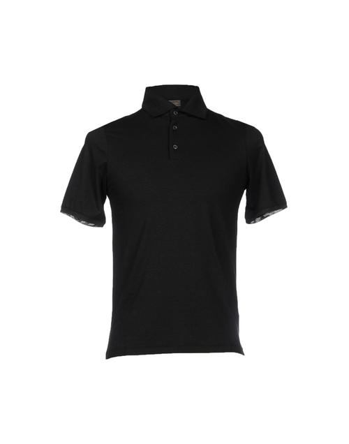 Short Sleeve Polo Shirt by Cruciani in Begin Again