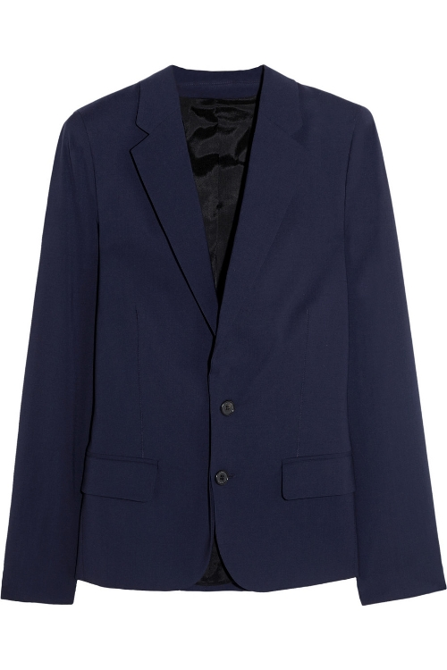 Cash B Wool-Blend Blazer by Acne Studios in The Second Best Exotic Marigold Hotel