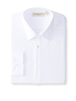 Modern Fit Poplin Dress Shirt by Burberry in Life