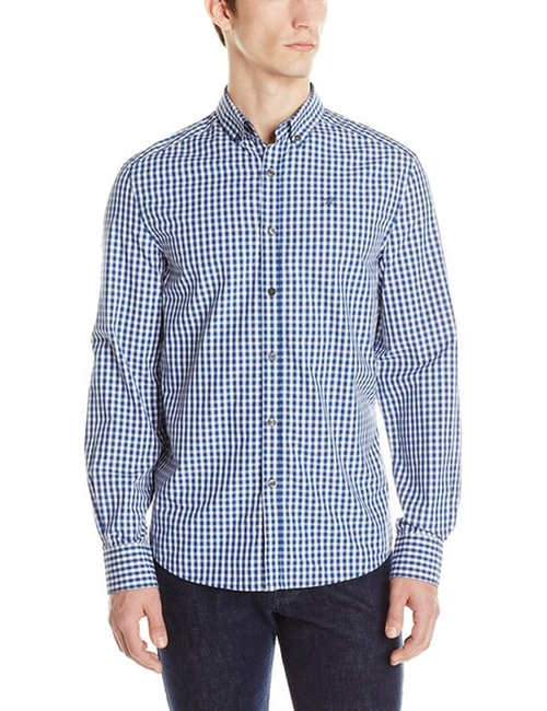 Men's Check Shirt by Kenneth Cole New York in Crazy, Stupid, Love.