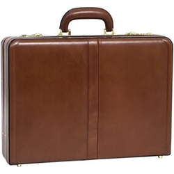 Harper Expandable Attache Case by McKlein in Bridge of Spies