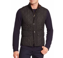 Lowerdale Quilted Vest by Barbour in Why Him?