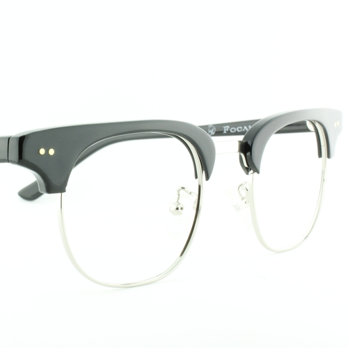 'Historian' Black Silver Eyeglass by Old Focals in Jurassic World