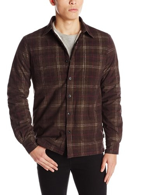 Plaid Sherpa-Lined Work Shirt by Threads 4 Thought in The Finest Hours
