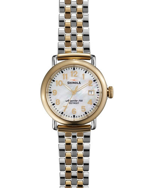Two-Tone Bracelet Strap Watch by Shinola	 in By the Sea