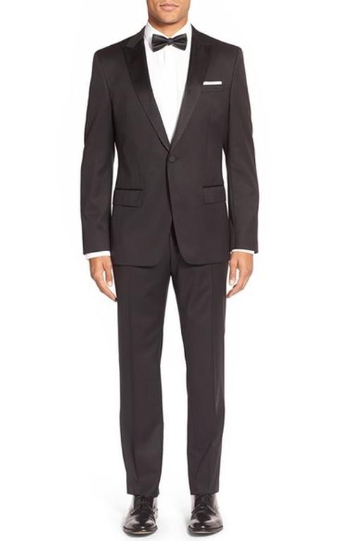 Trim Fit Wool Tuxedo Suit by Boss in Empire - Season 3 Season 3 Preview