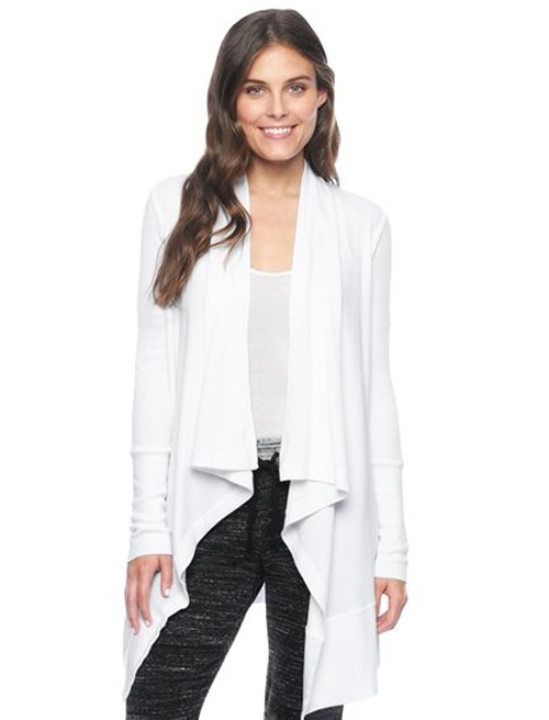 Thermal Cardigan by Splendid in Keeping Up With The Kardashians - Season 11 Episode 2