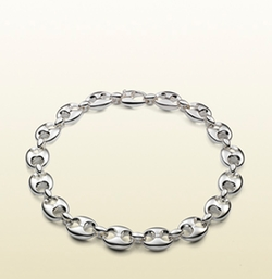 Necklace in Sterling Silver with Marina Chain Motif by Gucci in The Hundred-Foot Journey