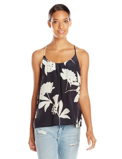 Women's Silk Vines Tank Top by Lucky Brand in The Vampire Diaries