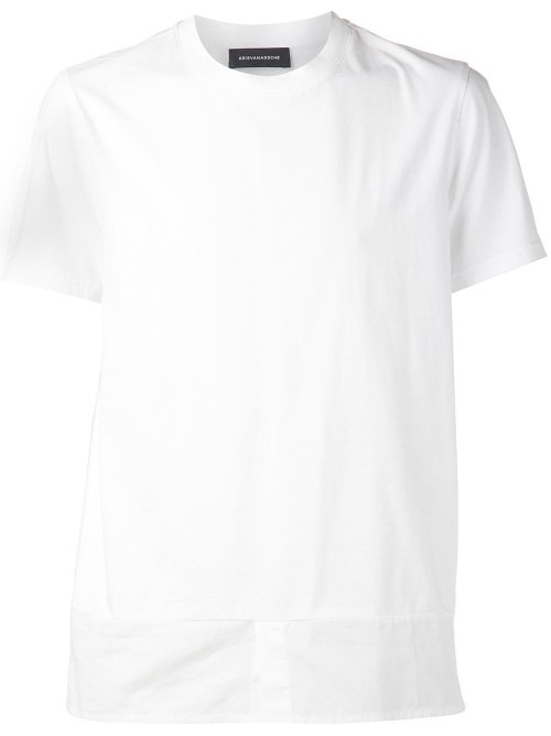 Shirt Hem T-Shirt by Kris Van Assche in The Town