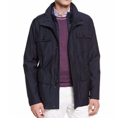 Hybrid Field Jacket by Michael Kors in Quantico
