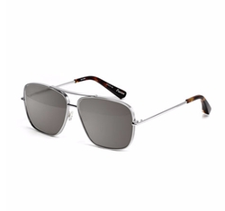 Deacon Square Aviator Sunglasses by Elizabeth and James in Animal Kingdom