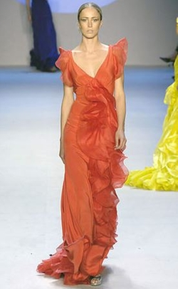 Spring 2008 Red Gown by Zac Posen in Sex and the City