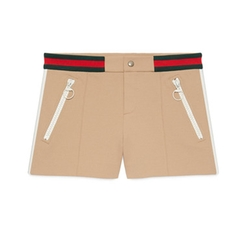Ribbed Jersey Shorts by Gucci in Keeping Up With The Kardashians