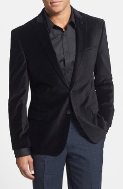 Trim Two-Button Blazer by Bensol in The Matrix