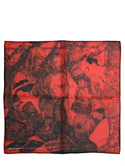 BETRAYAL COTTON VOILE POCKET SQUARE by TITLE OF WORK in Brick Mansions