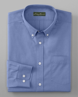 Pinpoint Oxford Shirt by Eddie Bauer in Daddy's Home