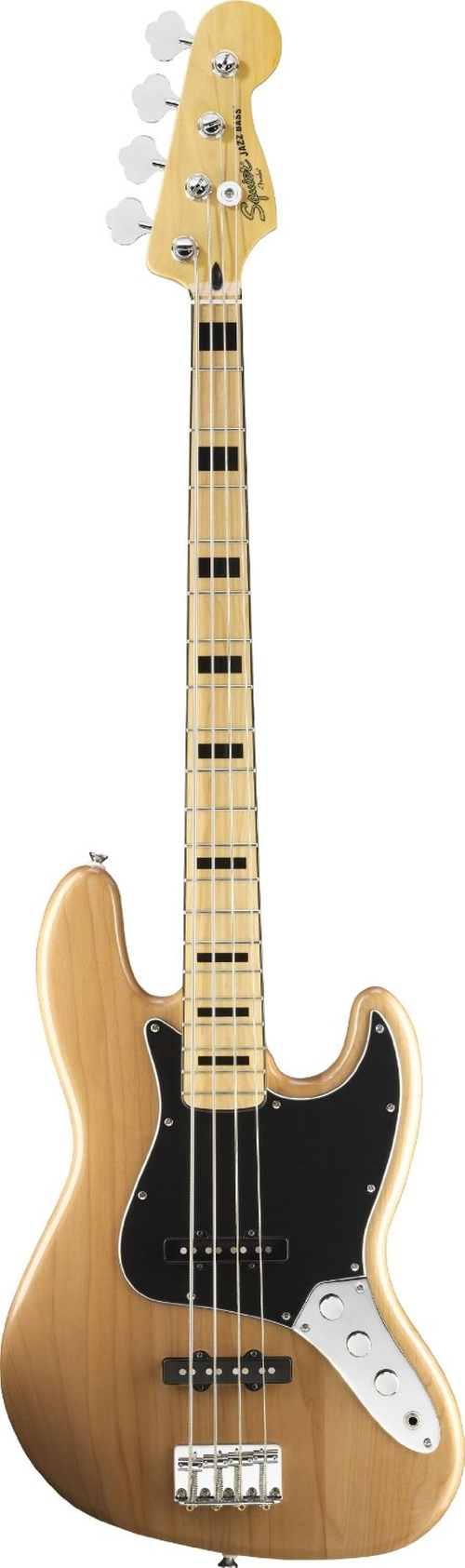 Squier by Fender Vintage Modified Jazz Bass '70s, Natural by Fender in Jersey Boys